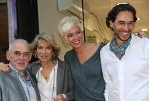 FIESTA SABARIZ Hairtists / Fiesta reapertura de salón, homenaje a casi 40 años de la firma SABARIZ, entrega de QHair