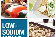 low dodium meals