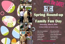 Spring Round-up & Family Fun Day 2016 / Save the date of 2/26/16 and join us for this awesome event that is filled with food, fun, and of course horses! We will be hosting a 1000+ EGG HUNT at 9:30am!