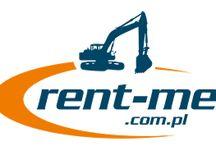 Rent-Me / Wynajem koparko ładowarek