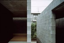Concrete Block Structure