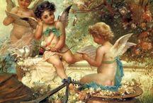 Πίνακες ζωγραφικής  αγγελοι