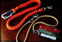 ~ PARACORD ~ Key Chains, Zipper Pulls, GeoBuddies (Paracord Buddy), Bracelets etc.). / All things ~ PARACORD ~