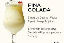 Coctails en juice en shakes