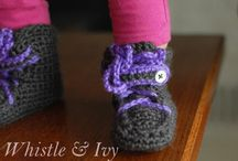 Crochet slippers/boots