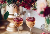 WEDDING PALLETTE | Red, Gold & Glitter