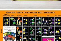Cvičení na míči