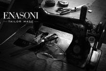 ENASONI:Tailor-Made / ENASONI garments for men, created by skilled artisans using the finest cloth.