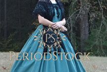 Ball Gowns / Historical style ball gowns from PeriodStock.com