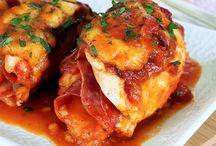 dinner chicken / by Wendy Nicholson-Scalph