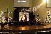 Christmas Stage Ideas