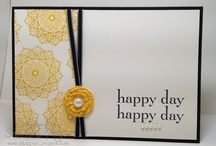 Happy Day / Stampin' Up!'s Happy Day stamp set
