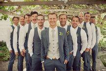 Wedding Groom and Groomsmen