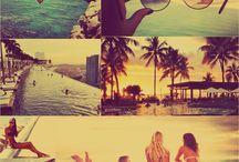 Sun, beach & bikinis