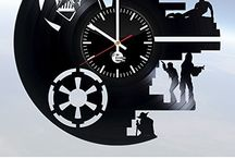 star wars vinyl clocks