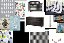 baby nursery ideas / Robots for the boys...and all things girls for a girl / by Taylor-Ann
