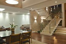 escadas internas salas