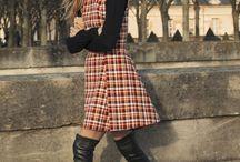 Осенняя уличная мода