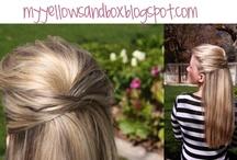 Hairstyles / by Heidi Gardunia
