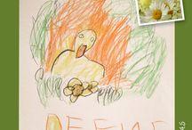 my little girl's art / illustration