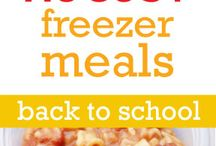 Food: Freezer Meals / by Jennifer H