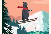 Для стикеров сноуборд vs горные лыжи
