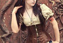 Steampunk fashion / Steampunk fashion mostly for women