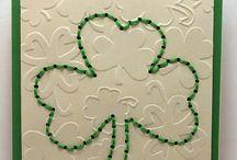 Cards: St. Patty's Day / by Julia @ It's Always Ruetten