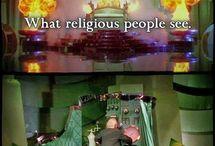 Religion is False. Atheists rule