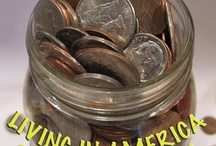 Slashing Spending / Cost of living keeps going up and paychecks stay the same - gotta make ends meet! / by Melanie Miller