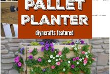 Pallet Projects / Creative ideas for furniture and decorations made from pallets.