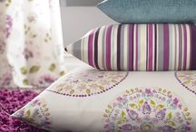 Figi SS15 / Fryetts Fabrics  new watercolour floral for SS2015 'Figi'