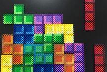 Hama beads - Tetris