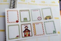 Planner Stickers Boxes