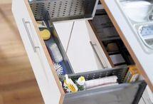 raak georganiseer in jou kombuis en huis