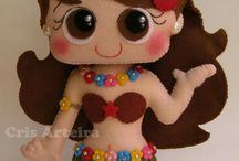 Havaiana boneca