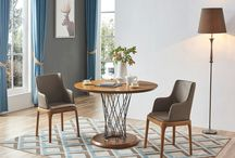 Modern Wood  Walnut Dining Collection