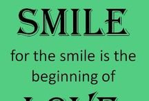 Smile the magic touch Human hearts /  Kindness and Love comes through in the Face-- and we call it a Smile what a Wonder of Expression