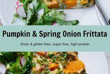 Autumn recipes / Healthy focused savoury recipes using seasonal autumn/ fall produce