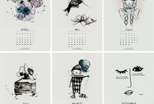 kalendarze, organizatory