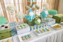 Yummy dessert tables