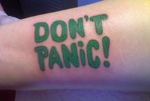 Don't panic, don't blink