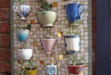 Jardines verticales ceramica