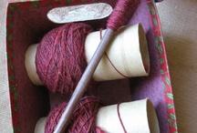 Spinning yarn/pradenie