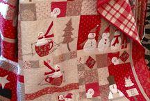 Merry Merry snowmen / Merry, Merry snowmen - quilt Bunny Hill design