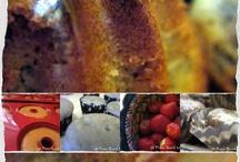Kürbisöl Erdbeer Muffin / Muffin