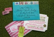 invitations / by Terra Palmer