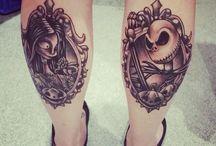 Jack and Sally tattoos