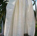 Stoles for Men / Organic Silk & Organic Cotton