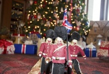 """YES Spaces British Christmas / """"Christmas Morning in Jolly Old England"""" An Installment at the Historic Pittock Mansion by YES Spaces!"""